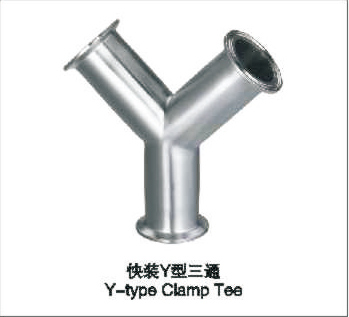 快裝Y型三通 Y-TYPE Clamp Tee