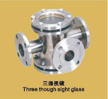 三通視鏡 Three though sight glass